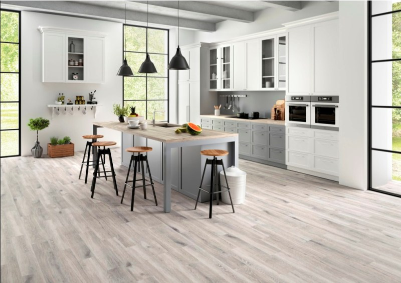 Antoni Platinum 6X36 Matte Wood Look Porcelain Tile