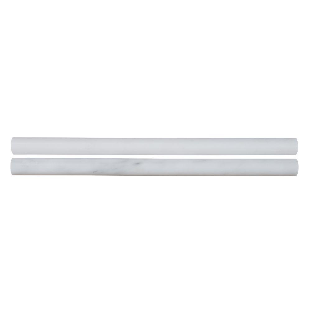Arabescato Carrara Pencil 3/4X3/4X12 Polished