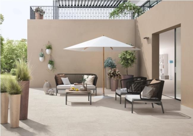 Arterra Livingstyle Pearl 24x24 Matte Paver