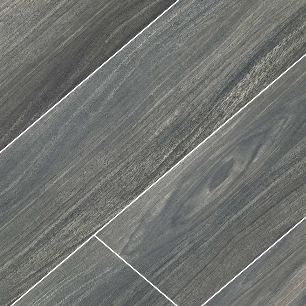 Braxton Midnight 10x40 Matte Porcelain Tile