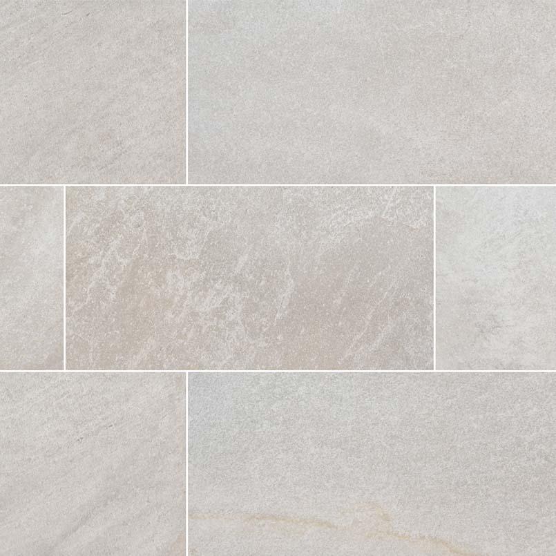Brixstyle Blanco 12x24 Matte Porcelain Tile