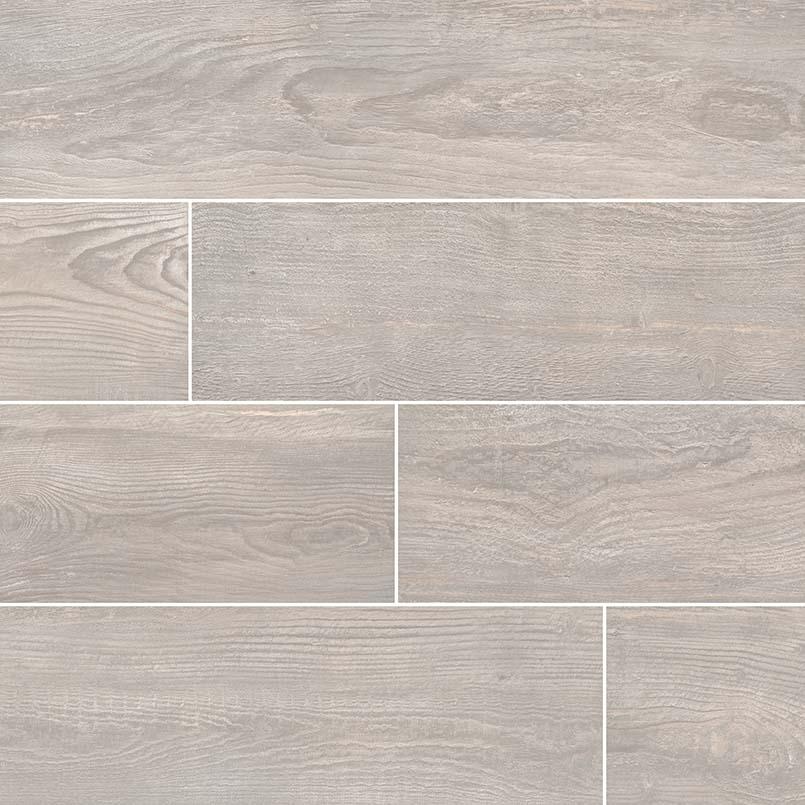 Caldera Grigia 8x47 Wood Look Rectified Matte Porcelain Tile