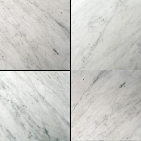 Carrara White CD 18X18 Polished