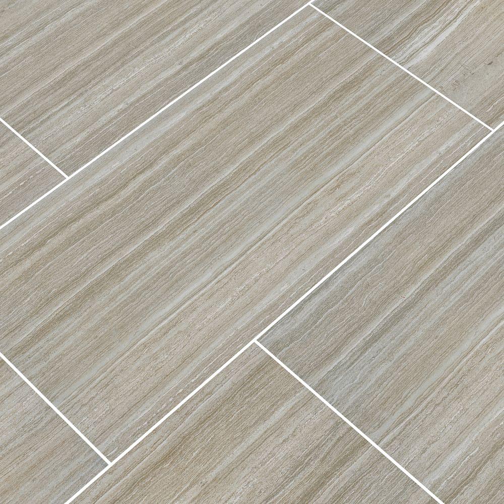 Charisma Silver 12X24 Matte Ceramic Tile