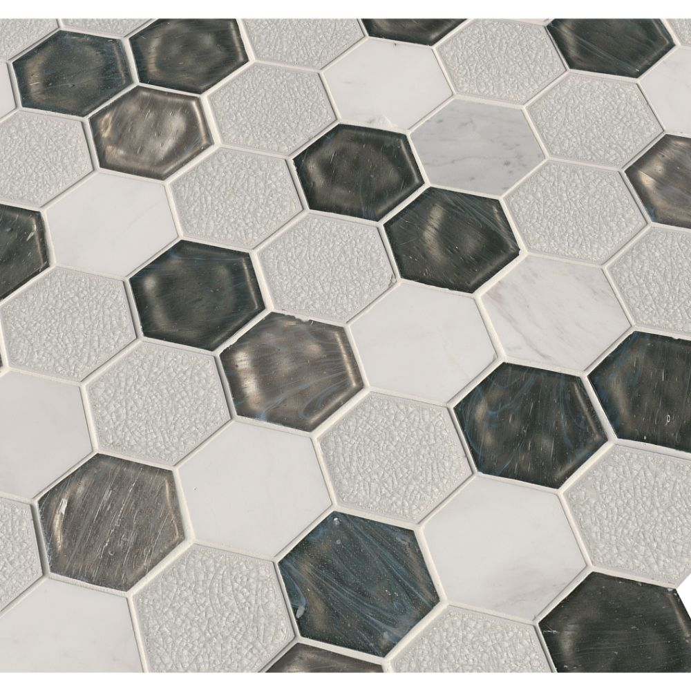 Circa Zirconia Hexagon 12X12 Matte