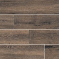 Antoni Nero 6X36 Matte Wood Look Porcelain Tile