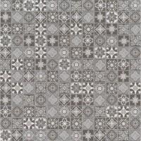 Anya Charcoal 2x2 Glossy Ceramic Mosaic