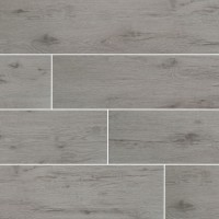 Celeste Grayseas 8X40 Black Matte Wood Look Ceramic Tile