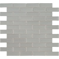 Morning Fog 2x6 Bevel Subway Ceramic Tile