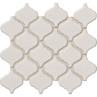 Bianco White Arabesque 6mm Mosaic