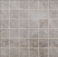 Essentials Ansello Grey 2X2 Matte Ceramic Mosaic