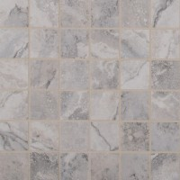 Napa Gray 2X2 Matte Ceramic Mosaic