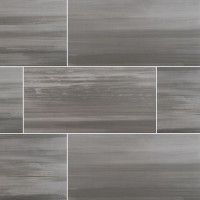 Watercolor Graphite 12x24 Matte Porcelain Tile