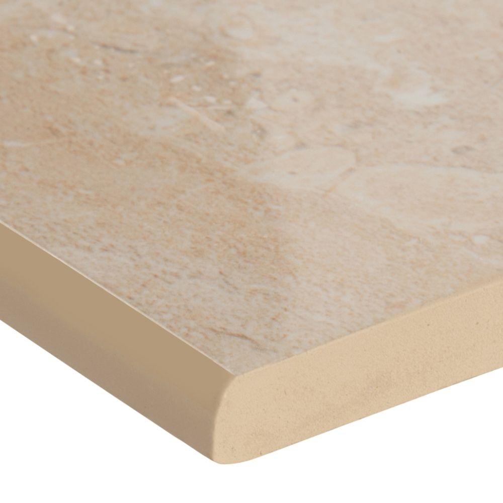 Aria Oro Bullnose 3X18 Polished Porcelain Tile