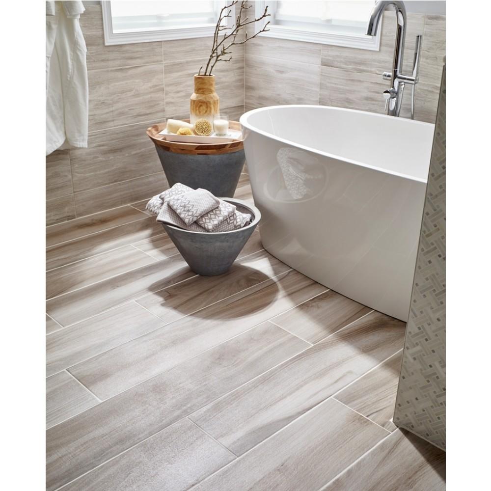 Aspenwood Ash 9X48 Porcelain Tile