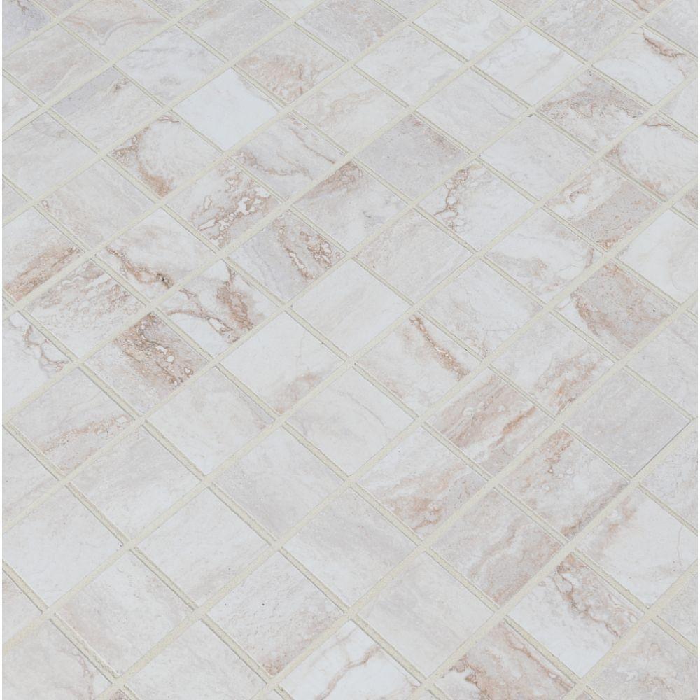 Bernini Bianco 2X2 Matte Mosaic