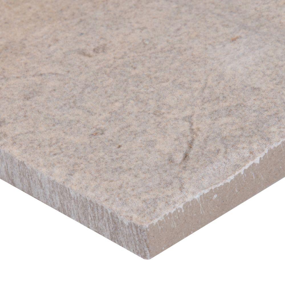 Capella Ivory 2X10 Brick Pattern Matte Porcelain Tile