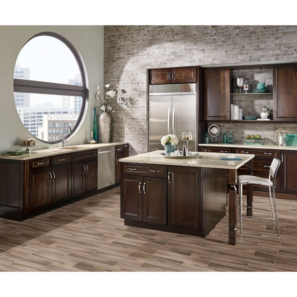 Carolina Timber Beige 6X36 Matte Ceramic Tile