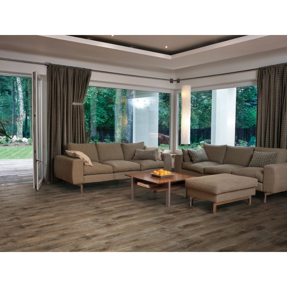 Country River Bark 6X36 Matte Porcelain Tile