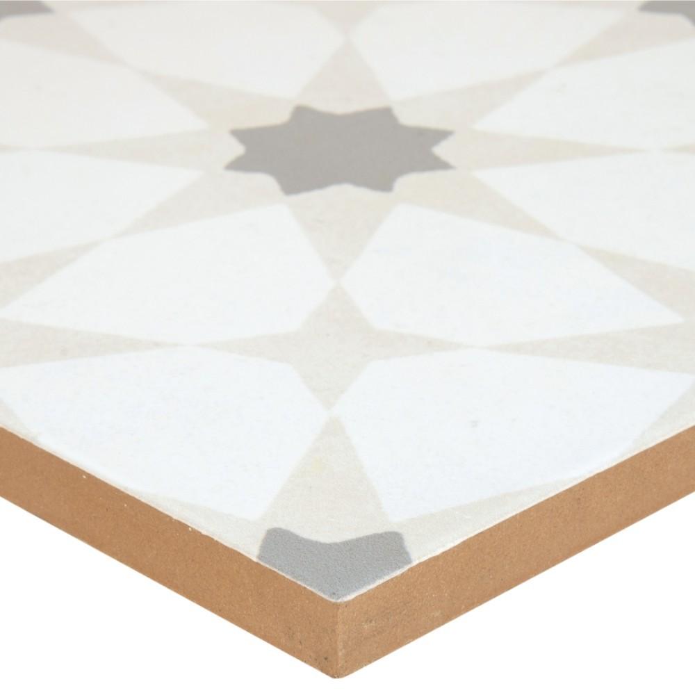 Kenzzi Zoudia 8x8 Matte Porcelain Tile Porcelain Tile Usa