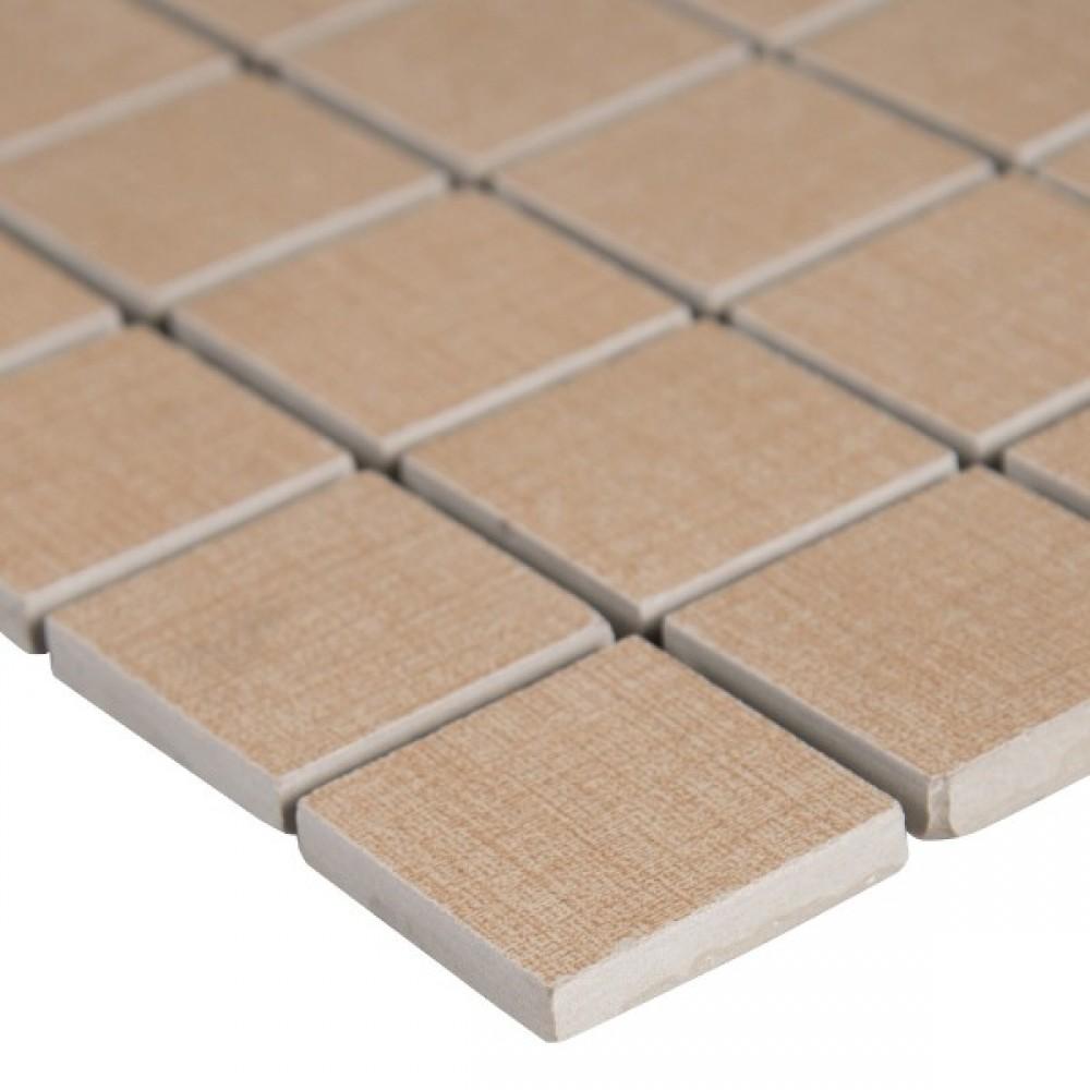 Loft Khaki 2X2 Matte Mosaic