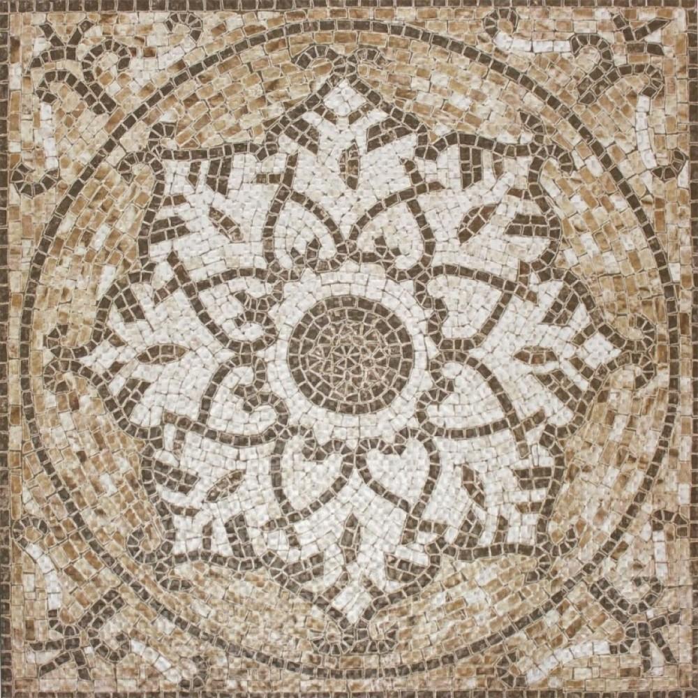 Tuscany Medallion 24x24 Matte Ceramic Floor Tile
