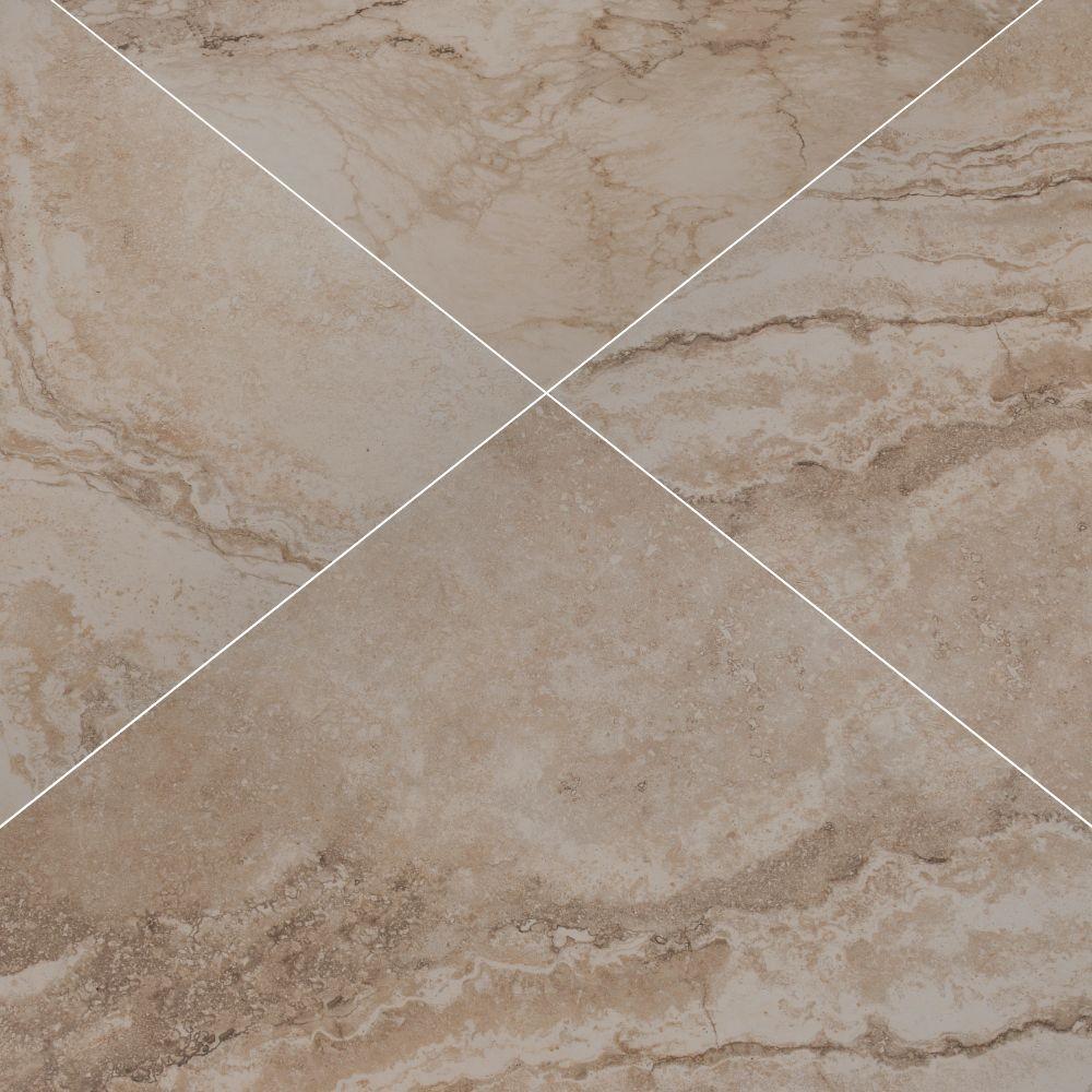 Napa Beige 13X13 Matte Ceramic Tile
