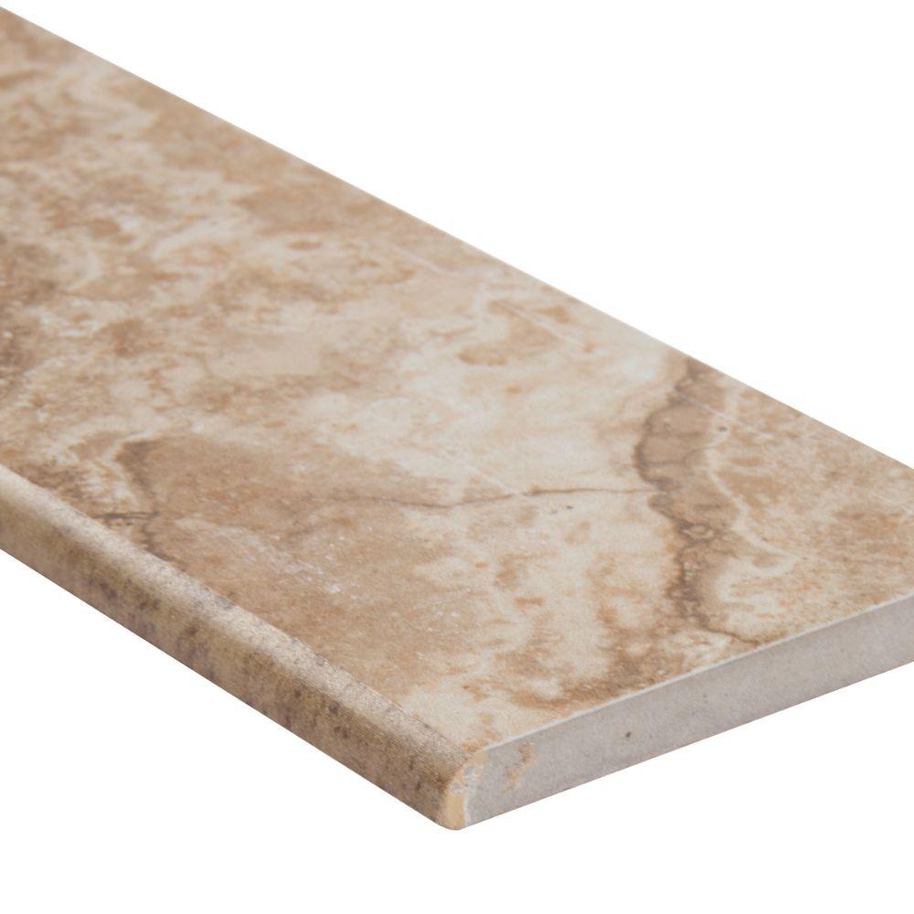 Napa Noce 3X13 Matte Bullnose Ceramic Tile