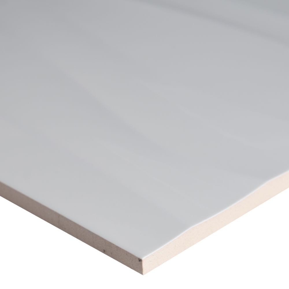 Onda Blanco 12X24 Glazed Ceramic Wall Tile