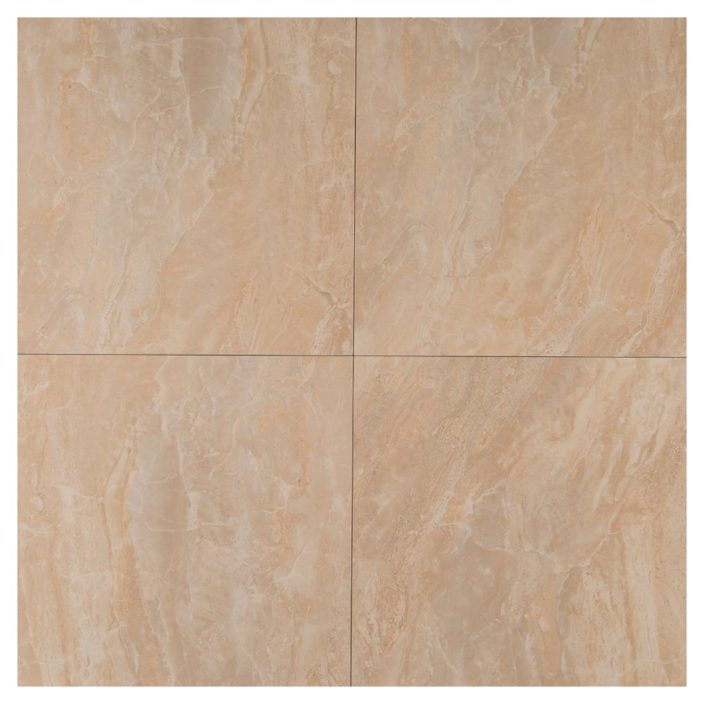 Onyx Crystal 24X24 Polished Porcelain Floor and Wall Tile