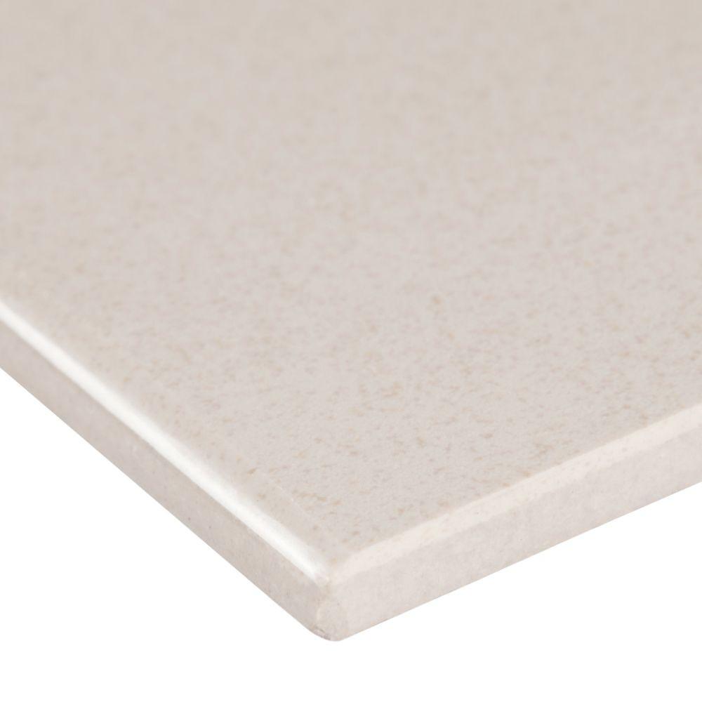 Optima Cream Bullnose 4x24 Matte Porcelain Tile