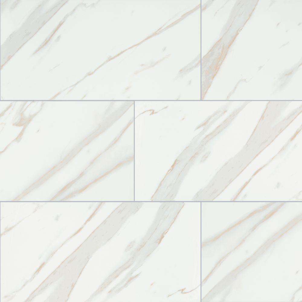 Pietra Calacatta 12X24 Matte Porcelain Tile