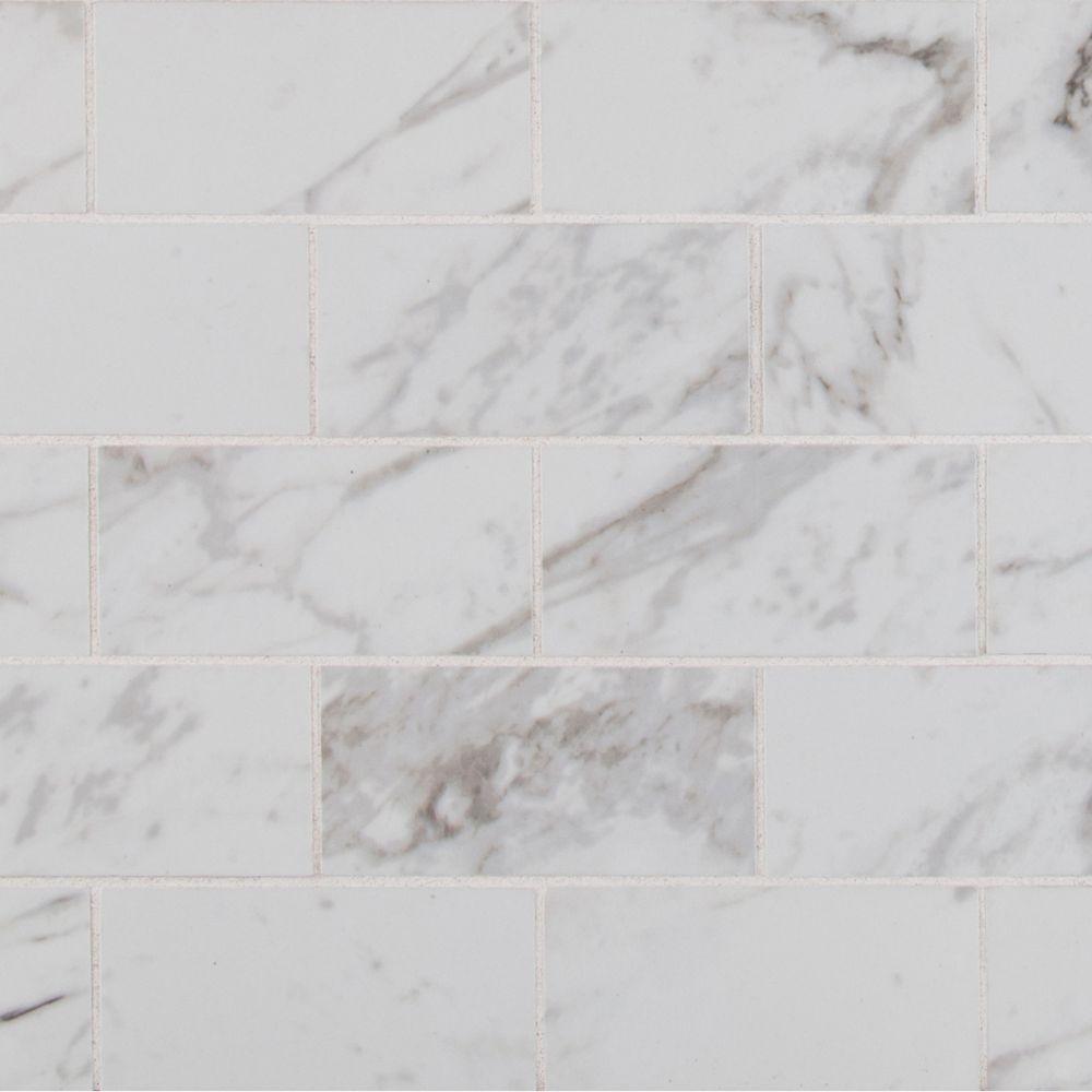 Pietra Carrara 2x4 Polished Porcelain Tile Usa