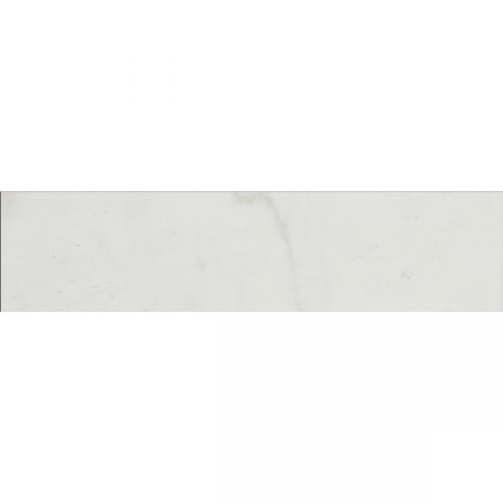 Pietra Carrara 3X18 Polished Bullnose Porcelain Tile