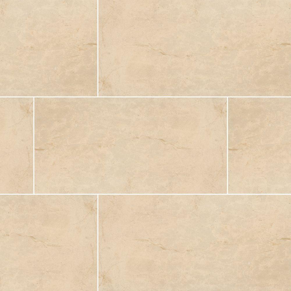 Pietra Ivory 16X32 Polished Porcelain Tile