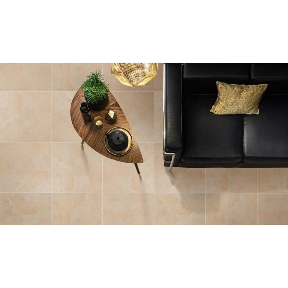 Pietra Marfil 24X24 Polished Porcelain Floor Tile