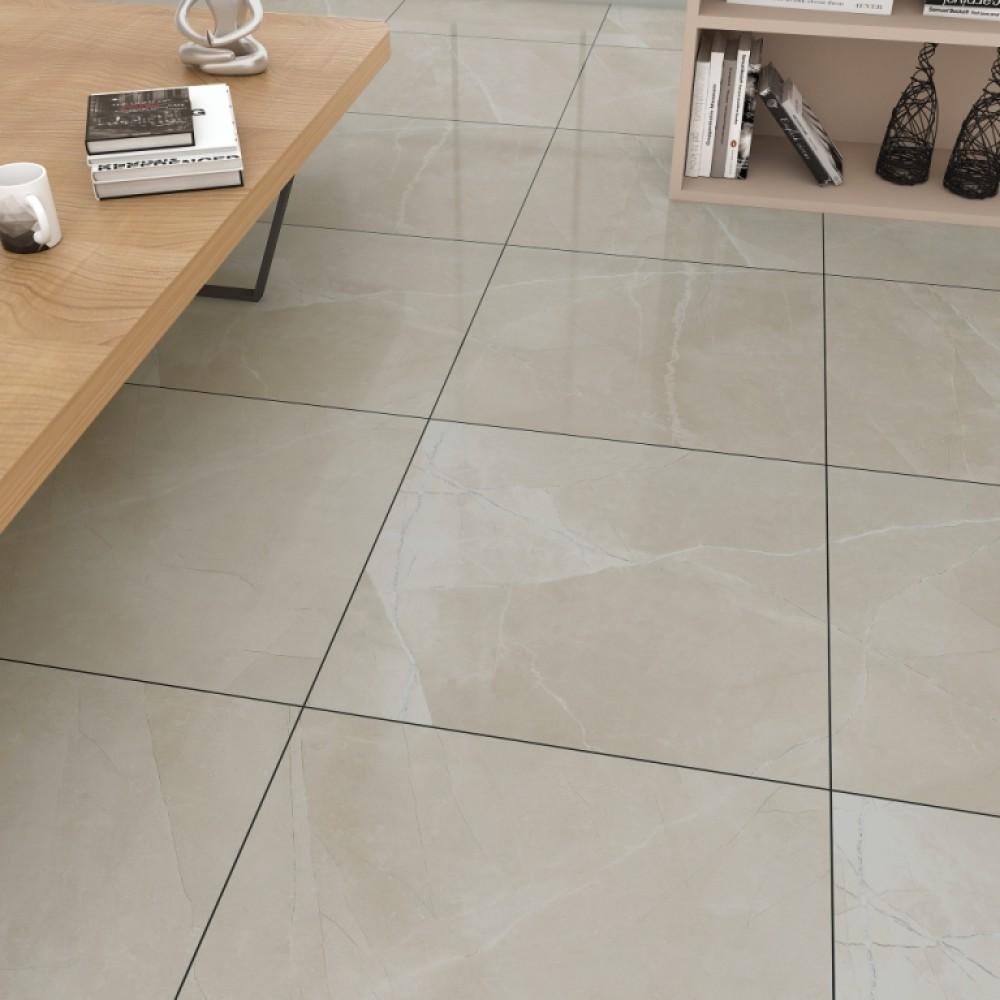 Sande Cream 24X24 Polished Porcelain Tile
