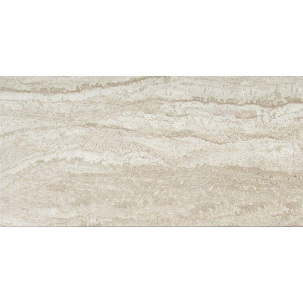 Sigaro Ivory 12X24 Matte Ceramic Floor Tile