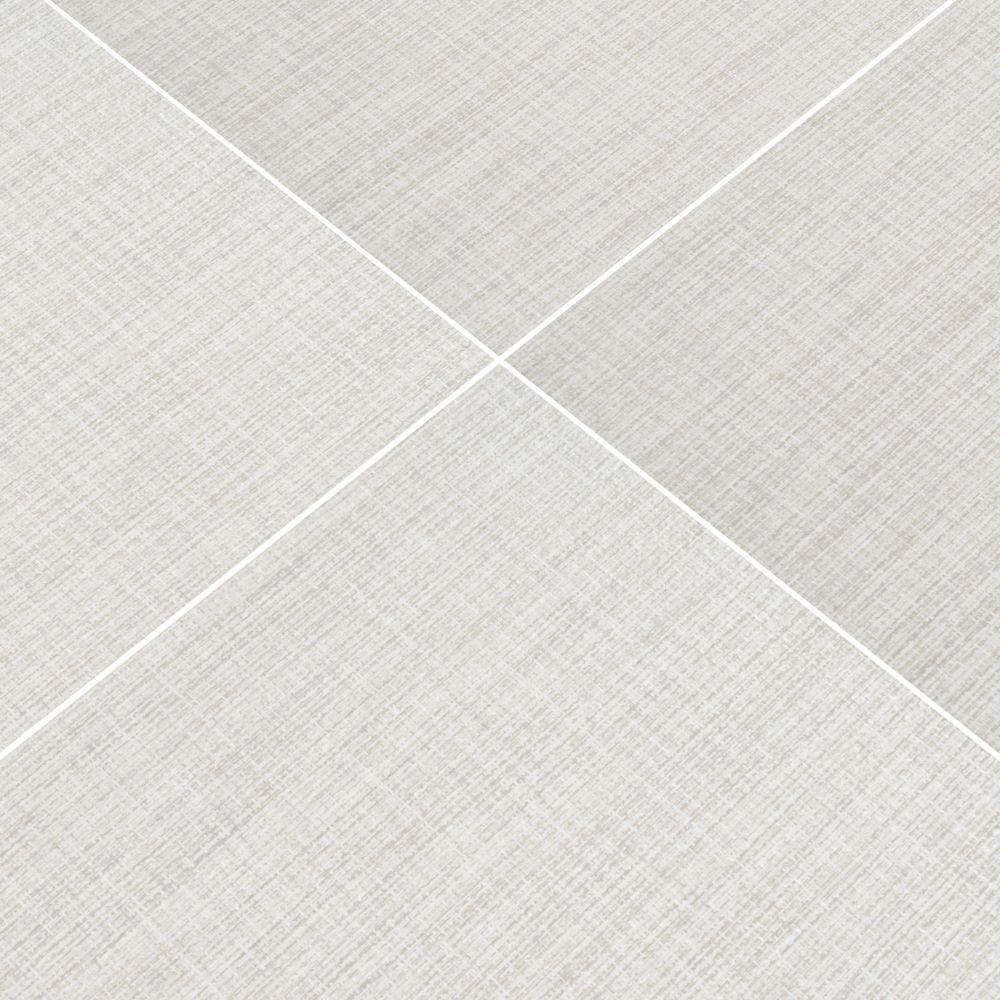 Tektile Lineart Ivory 12X24 Matte Porcelain Tile