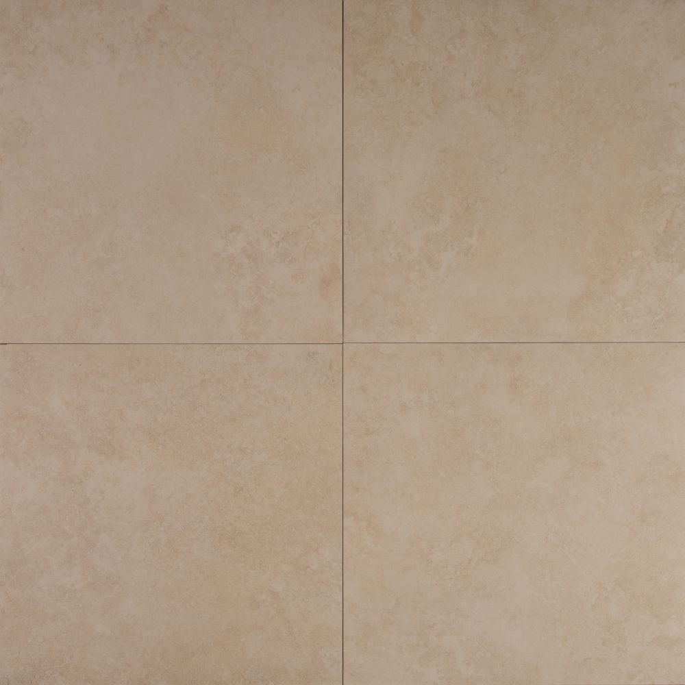 Travertino Beige 12X12 Matte Porcelain Tile