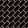 Retro Nero 2X4 Glossy Porcelain Subway Tile