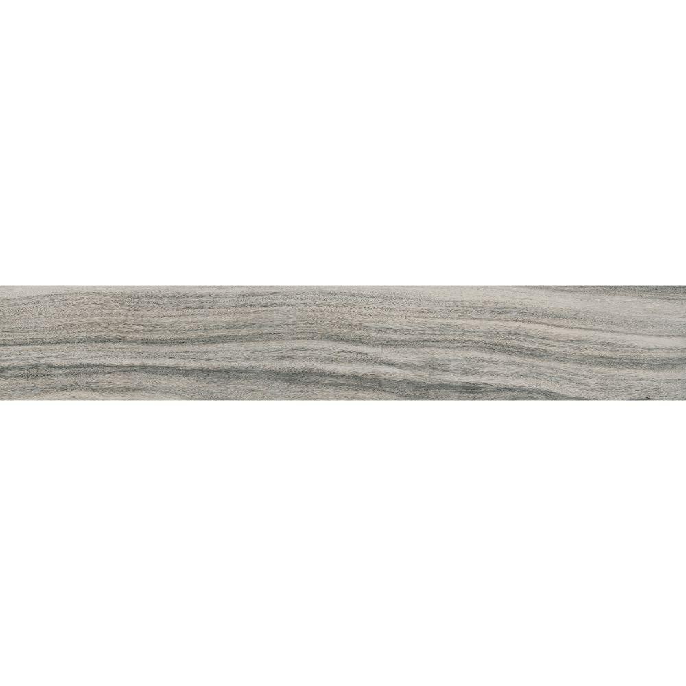 Dellano Moss Grey 8x48 Polished Wood Look Porcelain Tile
