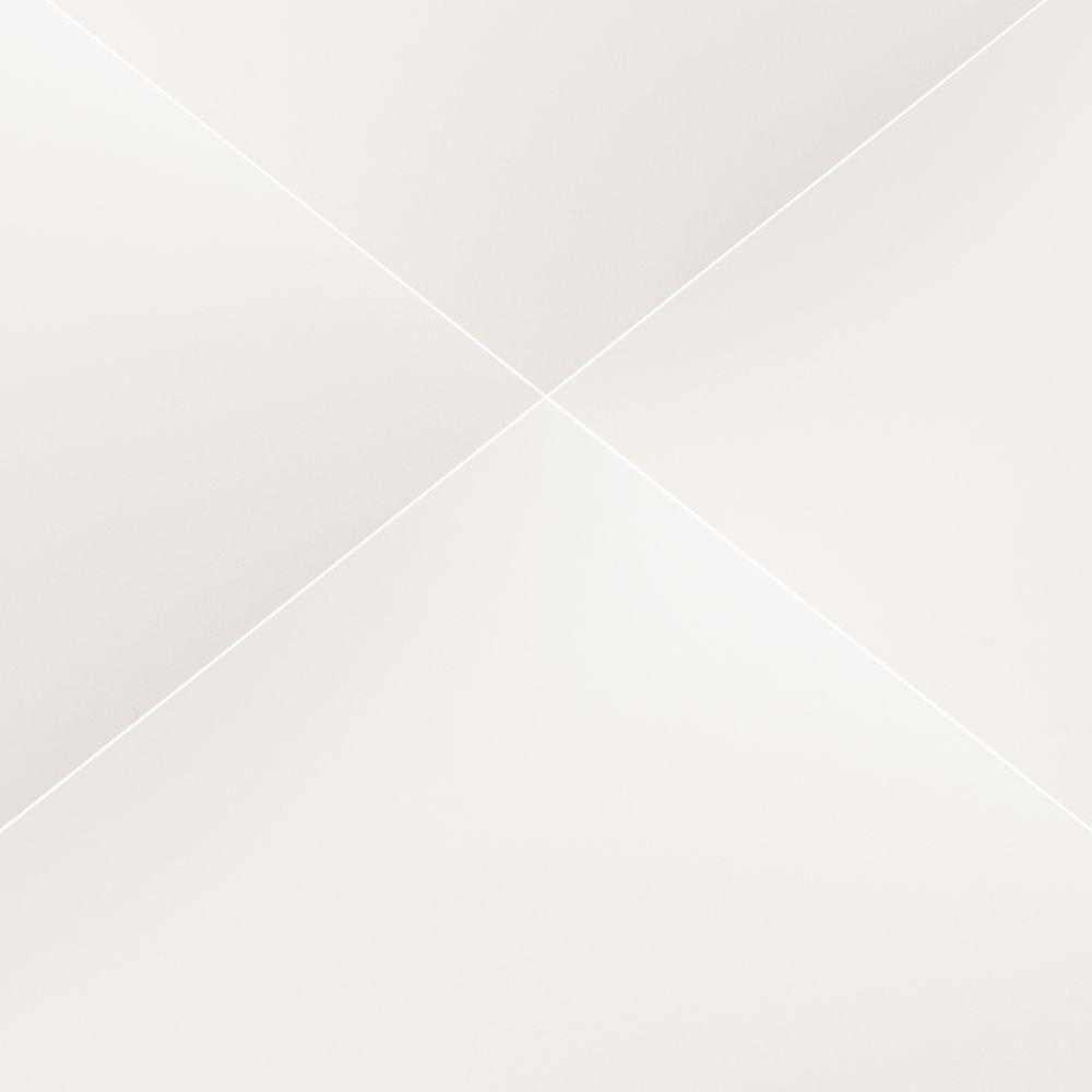 Domino White 24X24 Matte Porcelain TIle