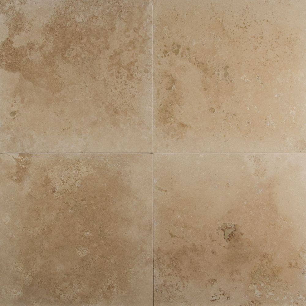 Durango Cream 12x12 Honed / Filled   Travertine Tile