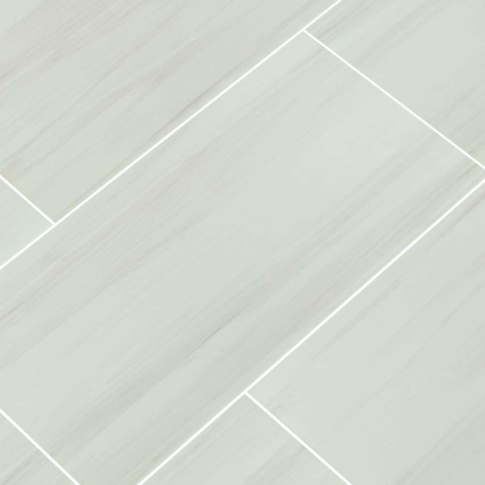 Eden Dolomite 12x24 Polished Porcelain Tile