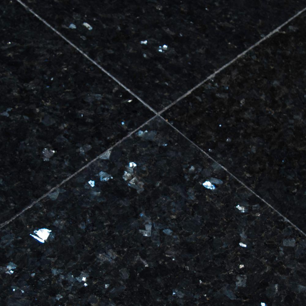 Emerald Pearl 12X12 Polished Granite Floor Tile