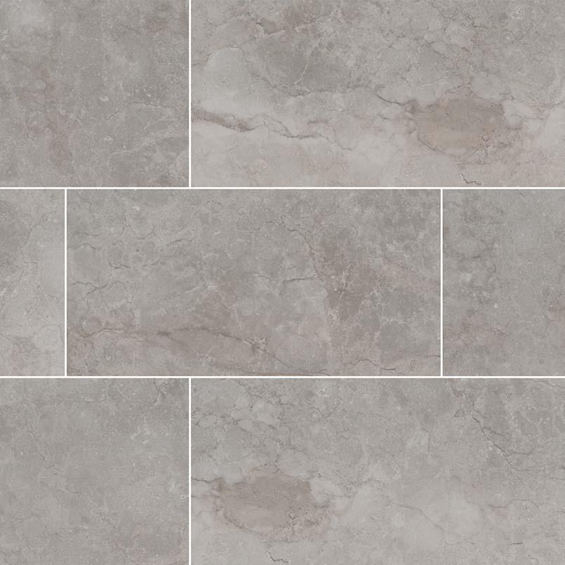 Essentials Ansello Grey 12X24 Matte Ceramic Tile