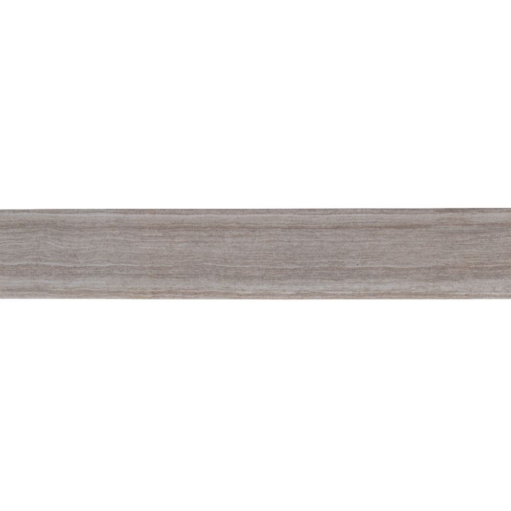 Essentials Charisma Silver Bullnose 3X18 Matte Ceramic Tile