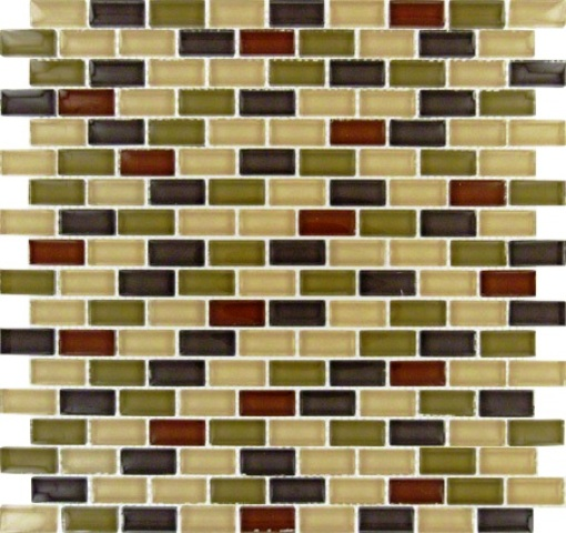 Everglade Mini Brick Pattern Crystallized