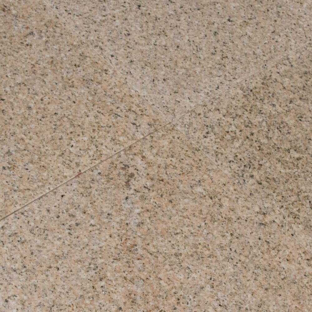 Giallo Fantasia 12X12 Polished Granite Floor Tile